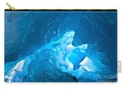 Lighting In Nigardsbreen Glacier Grotto 3 Carry-all Pouch
