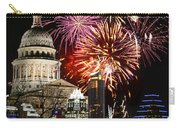 Lighting Up Austin Carry-all Pouch