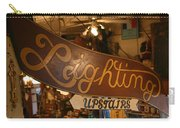 Lighting Upstairs Sign Carry-all Pouch