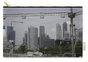 Lighting Work For The Singapore Formula One And A View Of The Helix Bridge Carry-all Pouch