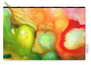 Lightness Of Being Abstract Art By Sharon Cummings Carry-all Pouch
