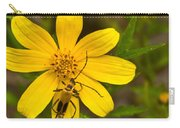 Lightning Bug On Flower Carry-all Pouch