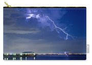 Lightning Over Safety Harbor Pier Carry-all Pouch