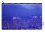Lightning Strkes At The North Rim Grand Canyon National Park Carry-all Pouch
