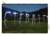 Lightpainting Image Spelling The Word Carry-all Pouch