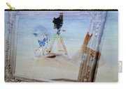 Lights Butterflies Sand And Surf Carry-all Pouch