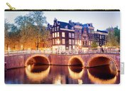 Lights Of Amsterdam Carry-all Pouch