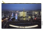 Lights Of Vegas Carry-all Pouch