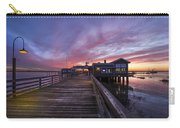 Lights On The Dock Carry-all Pouch