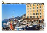 Liguria - Harbor In Camogli Carry-all Pouch