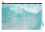 Like A Prayer- Abstract Painting Carry-all Pouch by Linda Woods