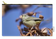 Lil' Bit - Orange-crowned Warbler Carry-all Pouch