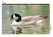 Lila Goose Queen Of The Pond 2 Carry-all Pouch
