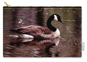 Lila Queen Of The Pond Carry-all Pouch
