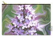 Lilac Abstract Carry-all Pouch