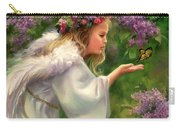 Lilac Angel Carry-all Pouch