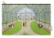 Lilac Arbour Oil On Board Carry-all Pouch