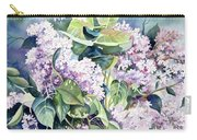 Lilac Delight Carry-all Pouch