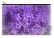 Lilac Fantasy Carry-all Pouch by Kay Novy