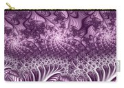 Lilac Fractal World Carry-all Pouch