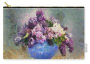 Lilac In Blue Vase Carry-all Pouch