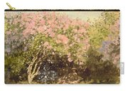Lilac In The Sun, 1873 Carry-all Pouch