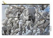 Lilac In Winter Carry-all Pouch