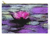 Lilac Lily Pond Carry-all Pouch