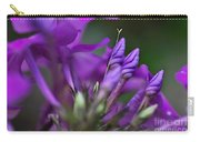Lilac Petals And Purple Buds Carry-all Pouch