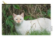 Lilac Point Siamese Cat Carry-all Pouch