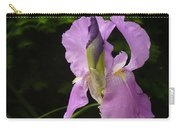 Lilac Siberian Iris Carry-all Pouch