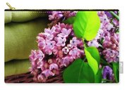 Lilac Still Life Carry-all Pouch