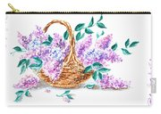 Lilac Vintage Impressionism Painting Carry-all Pouch