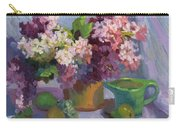Lilacs And Pears Carry-all Pouch