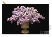 Lilacs In A Green Vase - Flowers - Spring Bouquet Carry-all Pouch