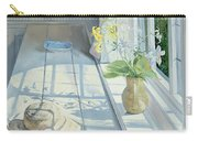 Lilies And A Straw Hat Carry-all Pouch