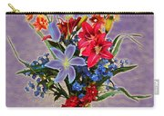 Lilies And Orchids Topaz II Carry-all Pouch