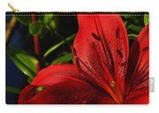 Lilies By The Water Carry-all Pouch by Randy Hall
