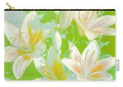 Lilies Greeting Card Carry-all Pouch