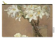 Lilies In A Vase Carry-all Pouch