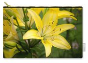 Lilies In The Sun Carry-all Pouch
