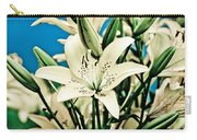 Lilies In White Carry-all Pouch