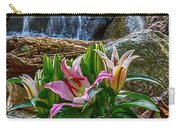 Lilies Of The Falls Carry-all Pouch