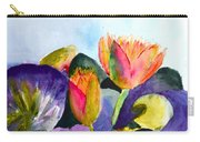 Lilies Of The Water Carry-all Pouch