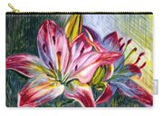 Lilies Twin Carry-all Pouch