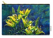 Lilies Carry-all Pouch by Zaira Dzhaubaeva