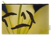 Lilium In Yellow Carry-all Pouch