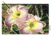 Lillies Clothed In Glory Carry-all Pouch