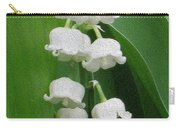 Lillies Of The Valley Cascade Carry-all Pouch