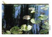 Lilly Pad Reflection Carry-all Pouch